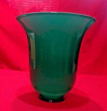 "Emerald Green Globe Desk Lamp Shade Bar Pendant or Fixture 2 1/4"""