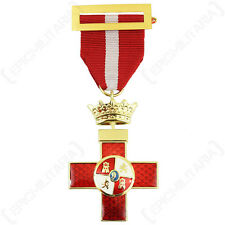 Spanish Military Merit Cross - Civil War Ribbon Army Military Decoration Award