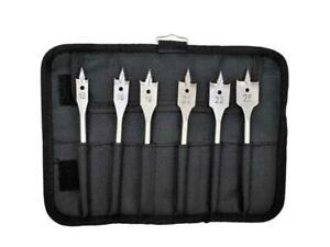 Bosch Selfcut Wrap Flat/Spade Drill Bit Set 6pc 2608587793