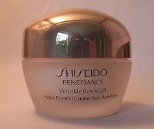 SHISEIDO  BENEFIANCE WrinkleResist24  NIGHT CREAM 50 ML  NEU UND OVP
