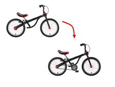 "Kundo Smarttrail 16"" Balance Kids Bike 2 in 1 Boy&girl Hybrid Cycling Red"