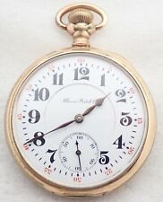 Jewel Gold Filled Pocket Watch Antique 16S Illinois Grade 176 17