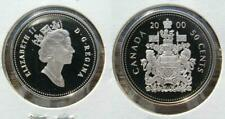 2000 Canada Frosted Silver 50 Cent Half Dollar Proof