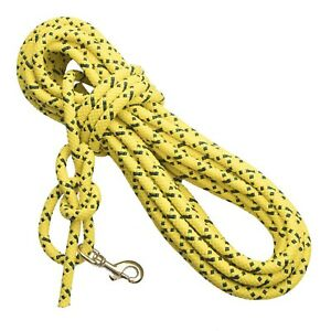 MENDOTA SUPER CHECK CORD HIGH VISIBILITY LONG LEASH SIZE 30 or 50 FT