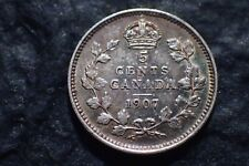 1907,    5 Cents,  Free shipping in Canada,    For your collection ?