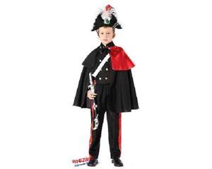 Costume Carnevale Bambino Carabiniere Alta Uniforme art.51163-varie taglie