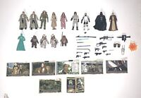 Star Wars ROTJ Endor 14 Figures Weapons & Accessories Lot