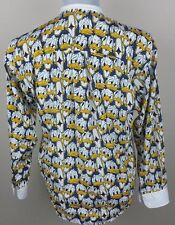Mickey & Co Oyster Disney Vintage Mens Donald Duck LS Shirt - Size: Small S