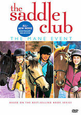 Saddle Club - Mane Event, New DVD, Sophie Bennett and Lara Jean Marshall, Keenan