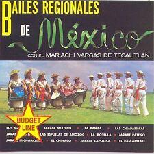 Mariachi Vargas : Bailes Regional De Mexico CD