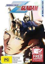 Mobile Suit Zeta Gundam : Collection 2 (DVD, 2010, 4-Disc Set)-R4- Like New