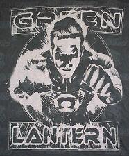 NWT GREEN LANTERN GRAY T-SHIRT Symbol DC Comics Soft Sheer Men's XXL $79