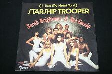 "SARAH BRIGHTMAN & HOT GOSSIP   SP 45T 7""   STARSHIP TROOPER   1978"
