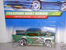 HOT WHEEL T-HUNT `57 CHEVY COLLECTOR # 758 1998 MOC