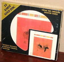 DCC GOLD CD GZS-1069: STAN GETZ, CHARLIE BYRD - Jazz Samba OOP 1995 USA COMPLETE