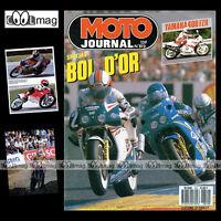 MOTO JOURNAL N°812 BOL D'OR, HONDA RS 125 & 250, YAMAHA FZR 400 EXUP 1987