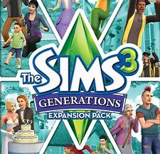 THE SIMS 3: GENERATIONS EXPANSION PACK - Origin chiave key - ITALIANO - ROW