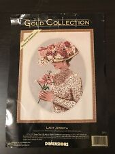 Dimensions Gold Collection Needlepoint Lady Jessica