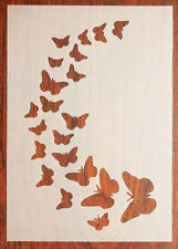 A5 Butterflies Stencil Reusable PP Sheet for Arts & Crafts, DIY