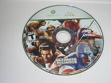 Marvel Ultimate Alliance (Xbox 360, 2006) Disc Only