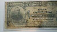 Battle Creek Michigan 1902 $10 National banknote,  Charter # 11852