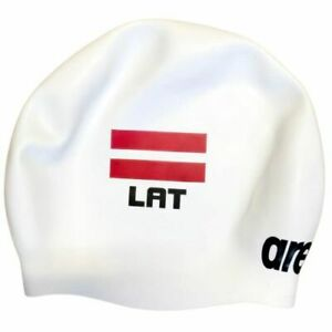 Arena Team Latvia National Wrinkle Free Swimming Cap Fina Approved Seamless