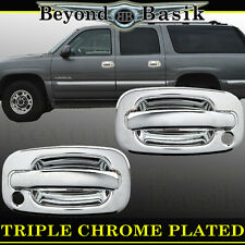 1999-2006 CHEVY SILVERADO Std/Ext Cab Chrome Door Handle COVERS 2dr W/PS Keyhole