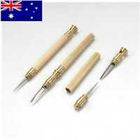 Multi-Tools 2 in 1 Mini Little Pocket Knife + Toothpick Brass Portable Outdoor