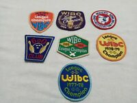 Vintage Lot of 7 1960s 70s  WIBC League Champion, 600 Club Womens Bowling Patch