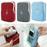 Travel Cable Cord Organizer Electronics Accessories Bag USB Drive Case Pouch AK