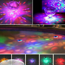 Floating Underwater LED Light Glow Swimming Pool Kids Shower Tub Lamp 7 Colors
