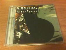 CD WIM MERTENS AFTER VIRTUE EMI 50999 5170112 3 BELGIUM PS 2008 MAX