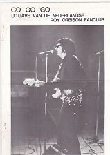 Roy Orbison-Go Go Go Magazine From the Dutch Roy Orbison Fanclub