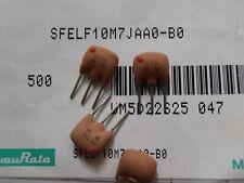 10pcs SFELF10M7JAA0-B0  Ceramic Filter for FM , 10.7Mhz, bandwdth 150Khz, MuRata