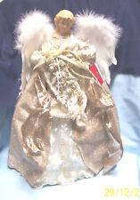 "Christmas Tree Topper -  Angel Tree Topper Figurine/Tabletop Decor  17"" H"