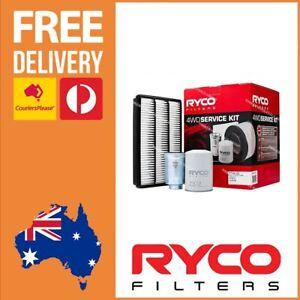 Ryco Filter Service Kit Mitsubishi Pajero NT 3.2L Diesel 1/2009 -10/2012 - RSK8