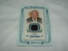 MONTY HALL TOPPS 2013 ALLEN & GINTERS RELIC SWATCH CARD LETS MAKE A DEAL GAME!