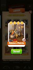 Painters Palette (Artist Set) - Coin Master - Immediate Delivery