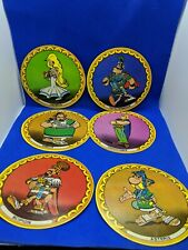 Lot of 6 Asterix Series 2 Circular Trade Card La Vache Qui Rit Laughing Cow