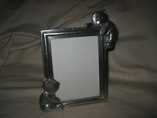 "Royal Selangor Pewter Teddy Bear's Picnic Table Top 3.5"" x 5"" Picture Frame"