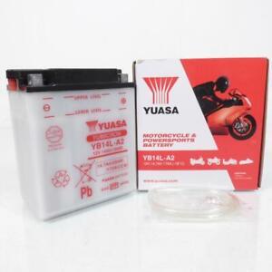 Batteria Yuasa per Scooter Aprilia 500 Scarabeo 2002 Per 2012 YB14L-A2/12V