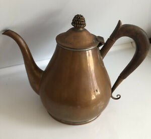Vintage Nekrassoff Copper Coffee/Tea Pot