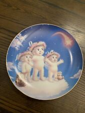 """Dreamsicles """" Wishing Upon a Star"""" Vintage Collectors Plate Hamilton Plate 1995"""