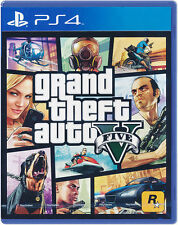 Grand Theft Auto V GTA 5 PS4 Game NEW English Portuguese Spanish French Chinese