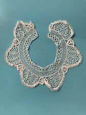 Lovely Vintage, Lace Collar, Delicate Floral Lace, Ivory, c1930