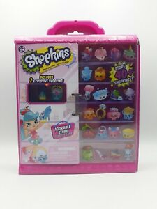 Shopkins Adorable Store Collector's Case - Stores 40+ and includes 2 Exclusives