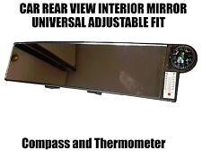Larghezza 30cm per Auto Specchietto Retrovisore interno grande Clip On-Bussola Termometro ac64