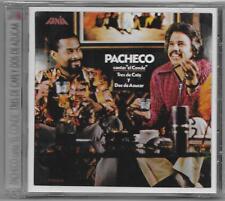 Johnny Pacheco - Tres De Cafe y Dos De Azucar - CD ** New / Nuevo ** 2007 Fania