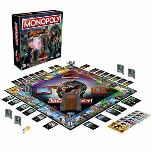 Monopoly : Jurassique Parc Édition Jeu de Société Neuf