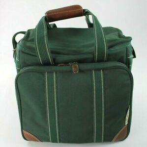 Picnic At Ascot Bag With Utensils Green Large Insolated